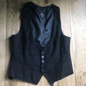 New York & Company black vest